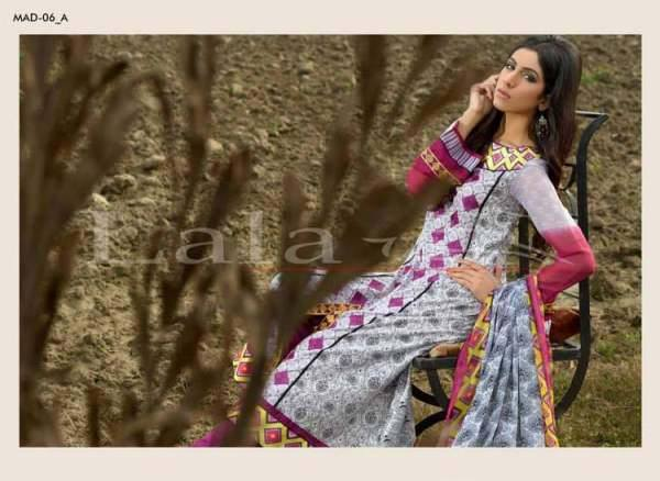 Lala Textiles Embroidered lawn Dresses Kurtis Summer Spring collection 2015-2016 (33)