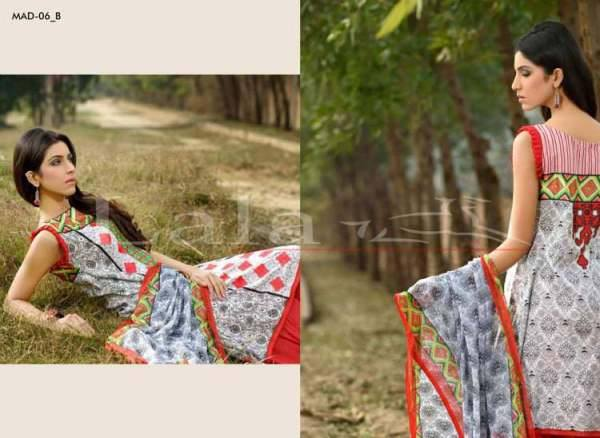 Lala Textiles Embroidered lawn Dresses Kurtis Summer Spring collection 2015-2016 (34)