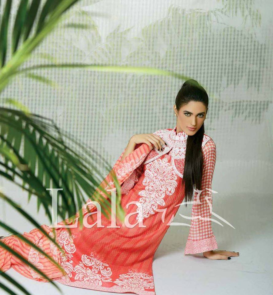 Lala Textiles Embroidered lawn Dresses Kurtis Summer Spring collection 2015-2016 (37)