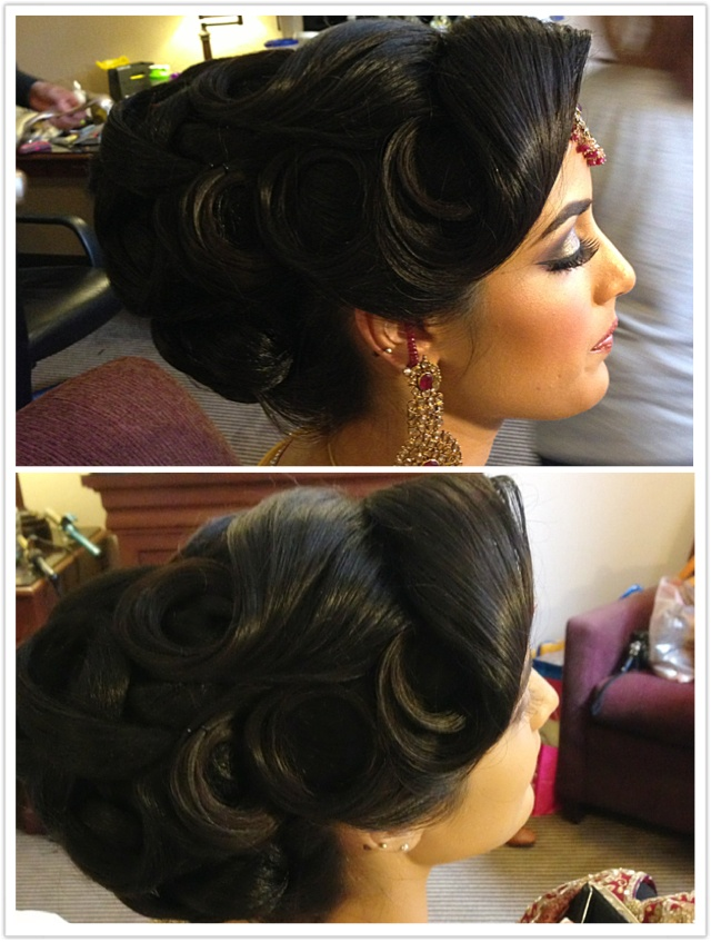Latest Bridal Wedding Hairstyles Trends & Tutorial Hair Looks with Pictures  (10)