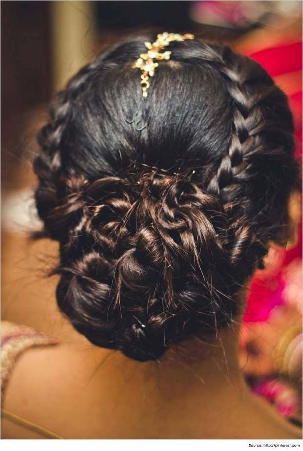 Latest Bridal Wedding Hairstyles Trends & Tutorial Hair Looks with Pictures  (14)