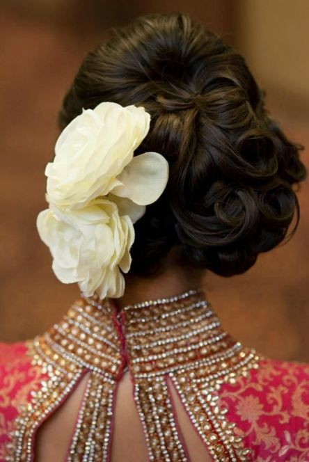 Latest Bridal Wedding Hairstyles Trends & Tutorial Hair Looks with Pictures  (25)