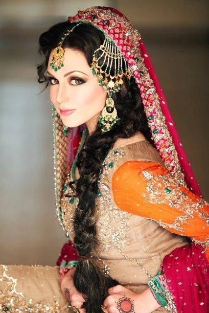Latest Bridal Wedding Hairstyles Trends & Tutorial Hair Looks with Pictures  (27)