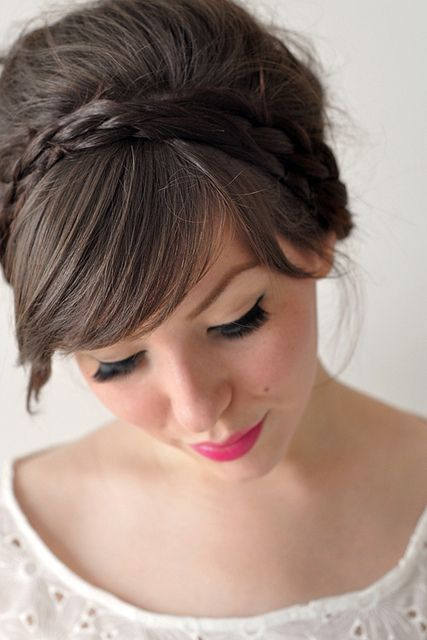 Latest Bridal Wedding Hairstyles Trends & Tutorial Hair Looks with Pictures  (35)