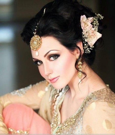 Latest Bridal Wedding Hairstyles Trends & Tutorial Hair Looks with Pictures  (4)