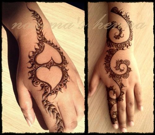 Latest Eid Mehndi Designs for Hands Feet Collection 2015-201 (17)