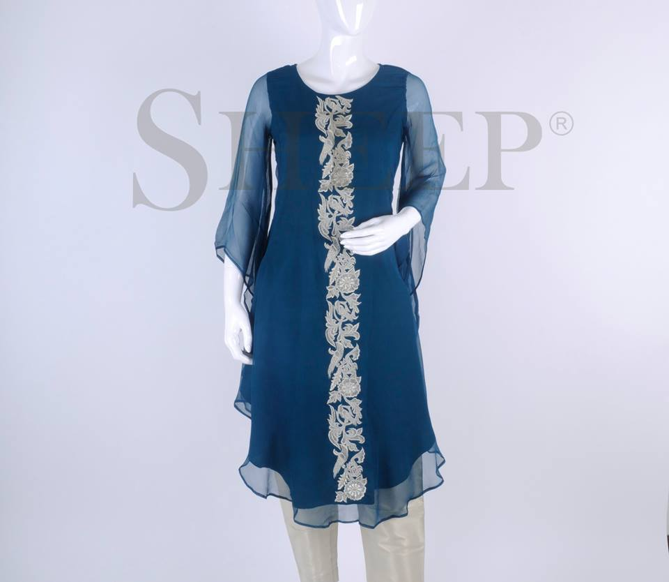 Latest Embroidered Fancy Kurtis for Women by SHEEP Formal Collection 2015-2016 (27)