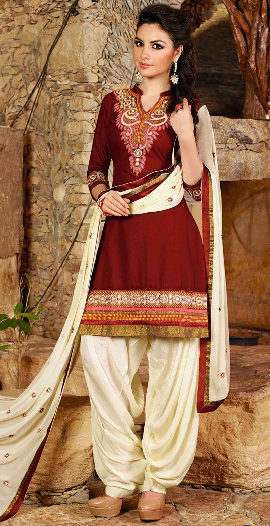 Latest Indian Patiala shalwar kameez fashion 2015-2016 (3)