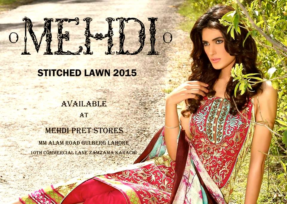 Mehdi Lawn Designs Summer Spring Collection 2015 By Al Zohaib Textiles  (12)