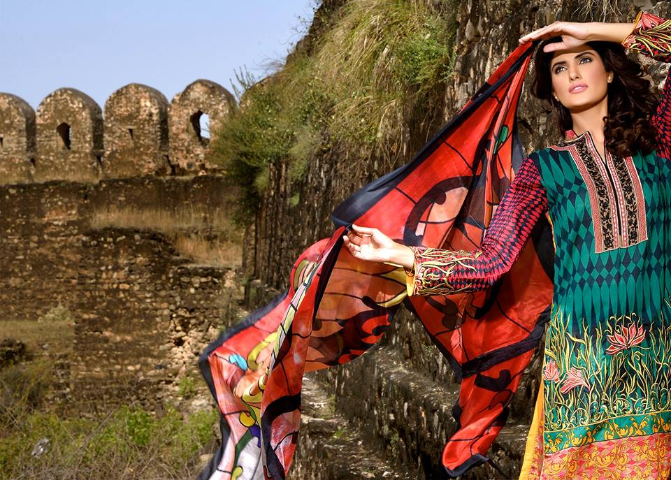 Mehdi Lawn Designs Summer Spring Collection 2015 By Al Zohaib Textiles  (13)
