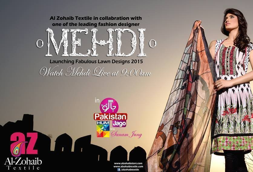 Mehdi Lawn Designs Summer Spring Collection 2015 By Al Zohaib Textiles  (15)