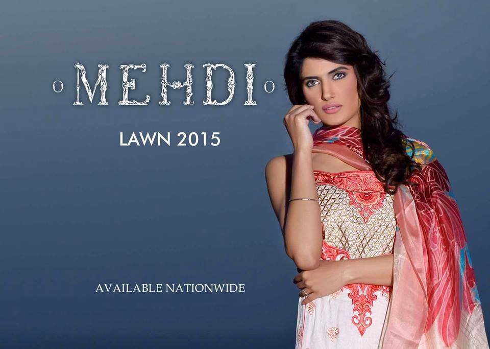 Mehdi Lawn Designs Summer Spring Collection 2015 By Al Zohaib Textiles  (2)