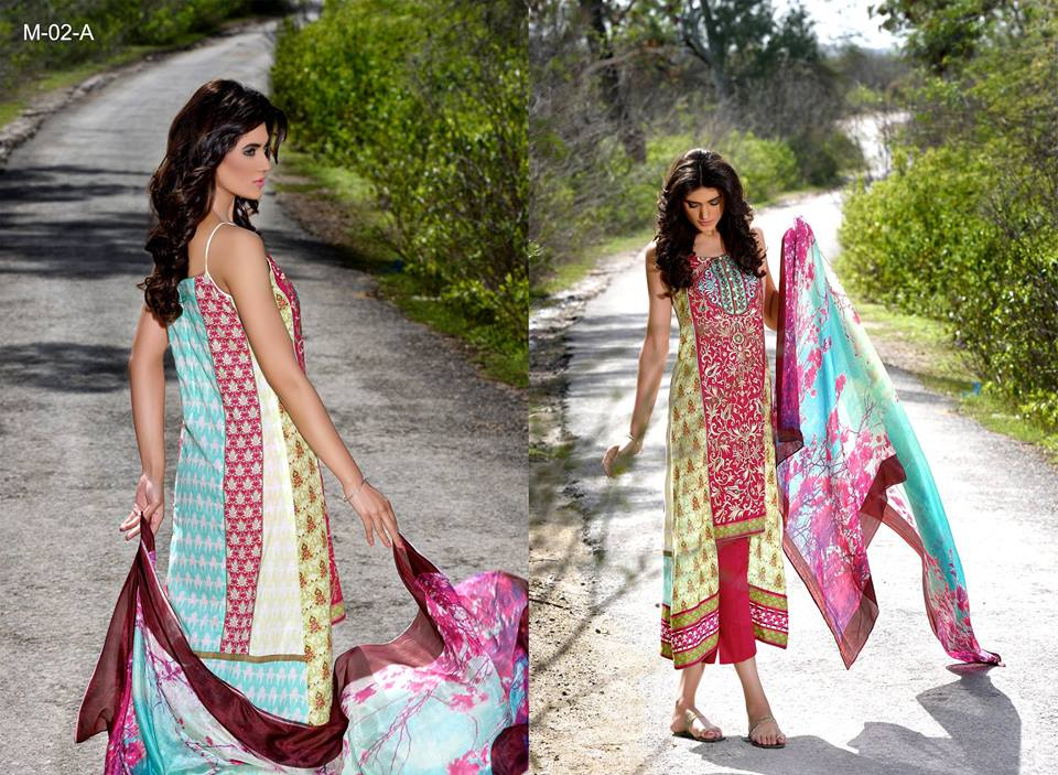 Mehdi Lawn Designs Summer Spring Collection 2015 By Al Zohaib Textiles  (20)