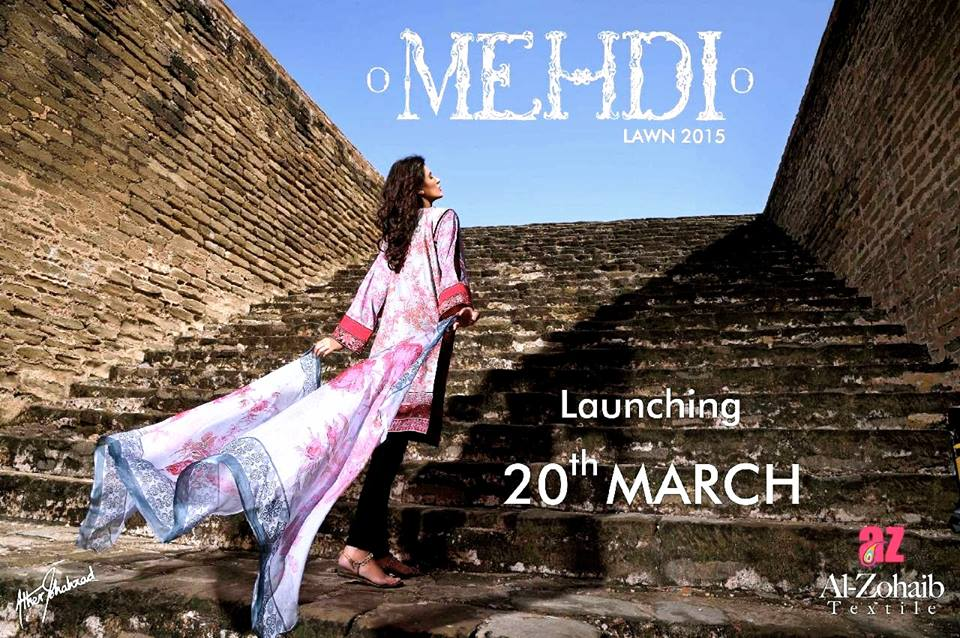 Mehdi Lawn Designs Summer Spring Collection 2015 By Al Zohaib Textiles  (22)