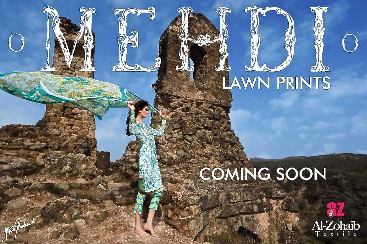 Mehdi Lawn Designs Summer Spring Collection 2015 By Al Zohaib Textiles  (23)