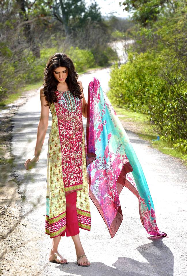 Mehdi Lawn Designs Summer Spring Collection 2015 By Al Zohaib Textiles  (3)