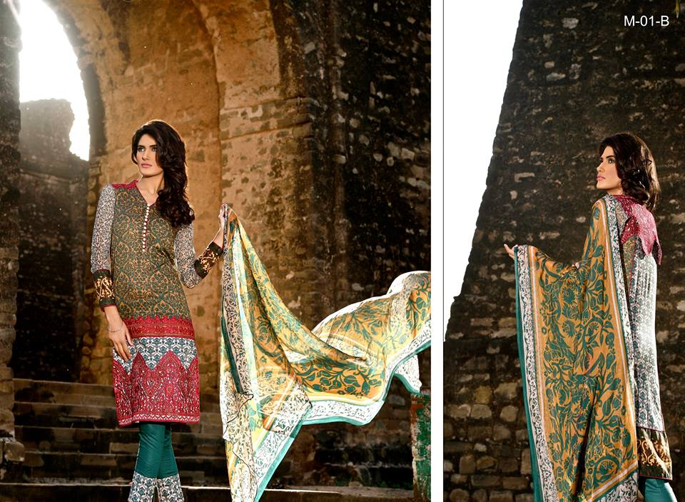 Mehdi Lawn Designs Summer Spring Collection 2015 By Al Zohaib Textiles  (8)