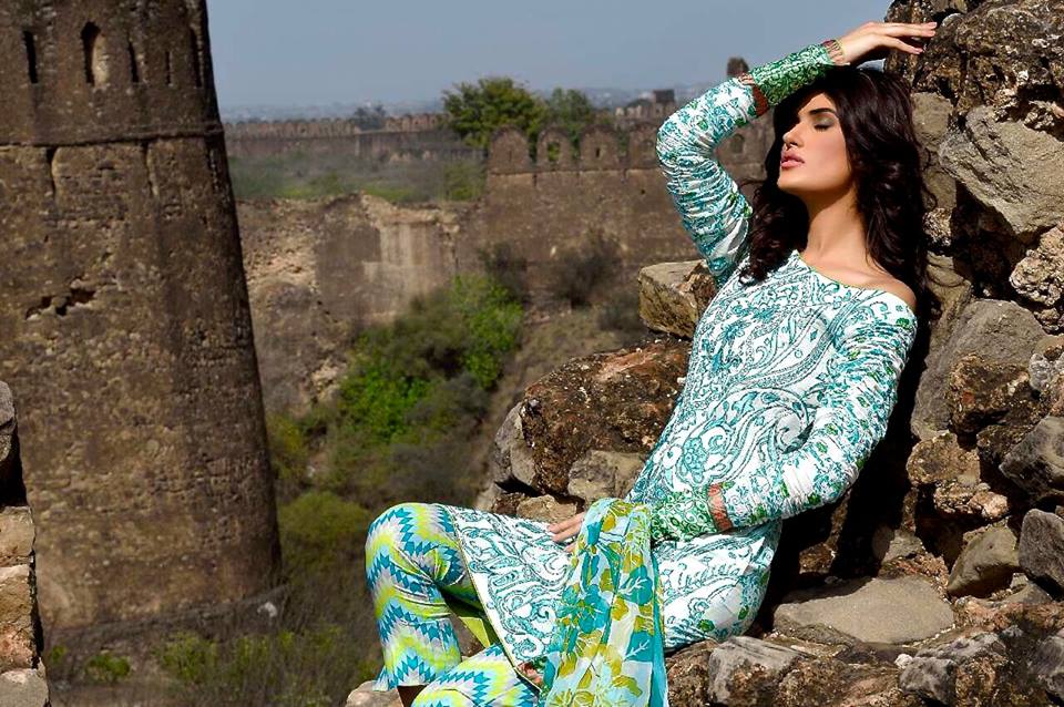 Mehdi Lawn Designs Summer Spring Collection 2015 By Al Zohaib Textiles  (9)