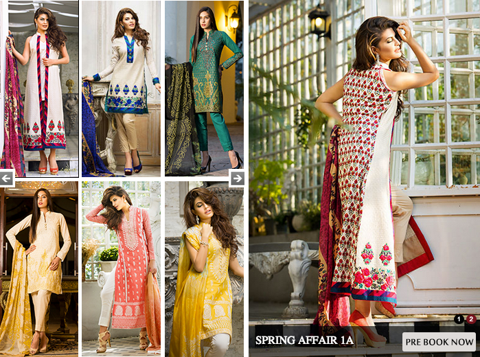 Zainab Chottani Latest Summer Spring Lawn Dresses Collection 2015 for Women (1)
