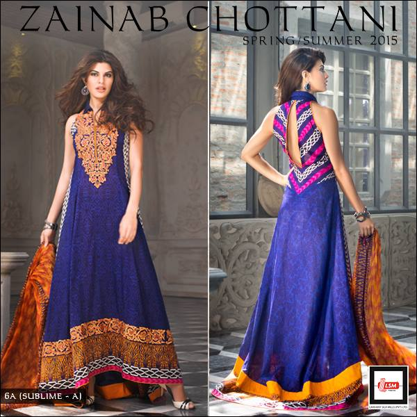 Zainab Chottani Latest Summer Spring Lawn Dresses Collection 2015 for Women (18)