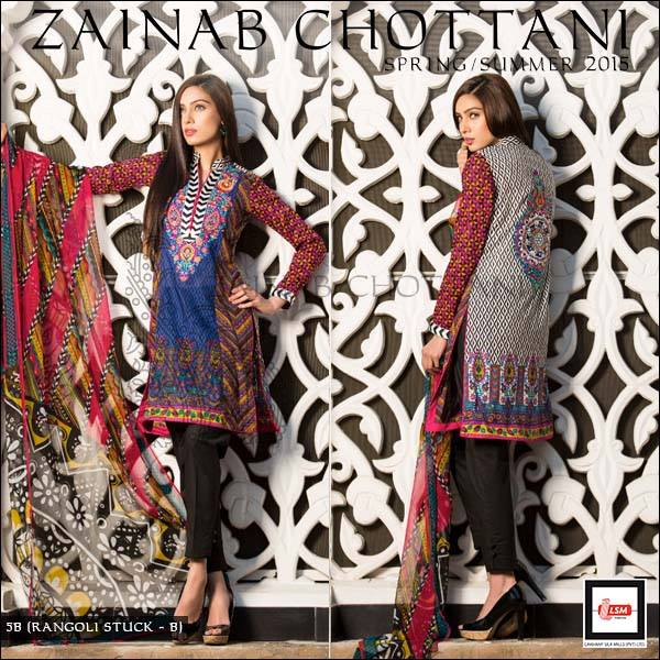 Zainab Chottani Latest Summer Spring Lawn Dresses Collection 2015 for Women (19)