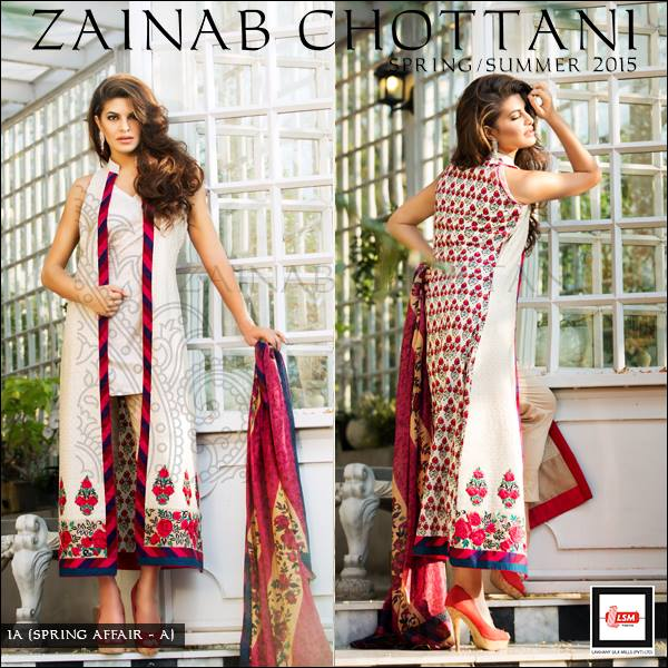 Zainab Chottani Latest Summer Spring Lawn Dresses Collection 2015 for Women (20)