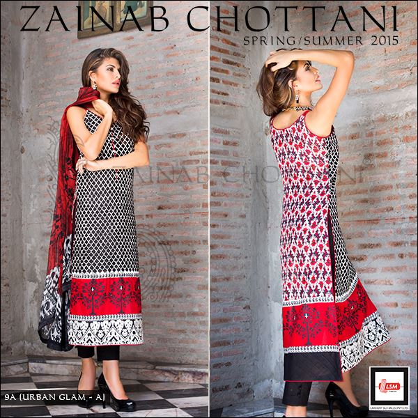 Zainab Chottani Latest Summer Spring Lawn Dresses Collection 2015 for Women (22)
