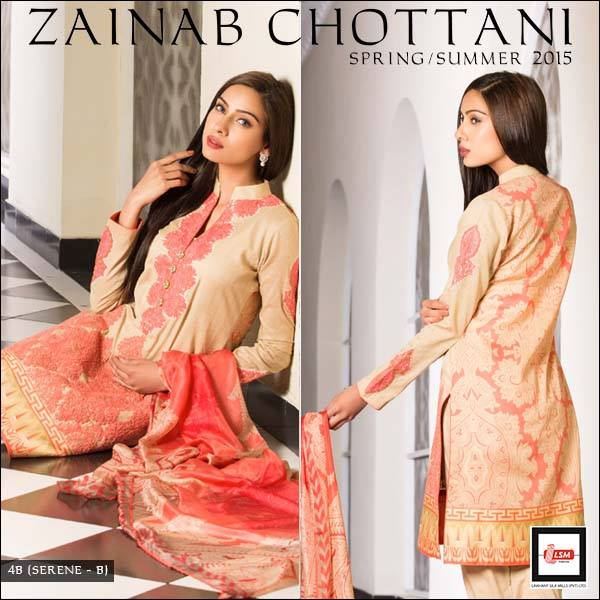 Zainab Chottani Latest Summer Spring Lawn Dresses Collection 2015 for Women (24)