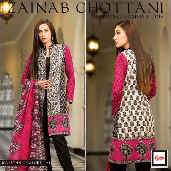 Zainab Chottani Latest Summer Spring Lawn Dresses Collection 2015 for Women (25)