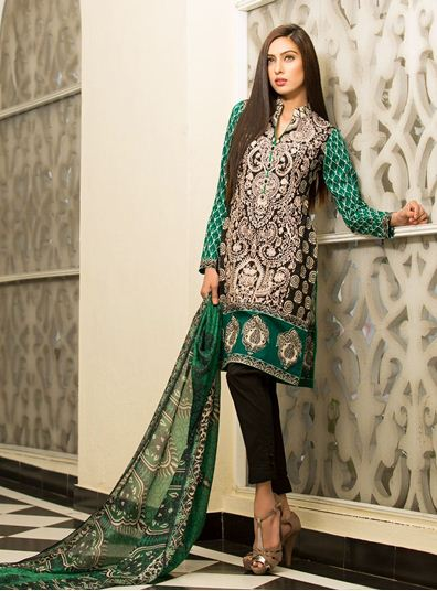 Zainab Chottani Latest Summer Spring Lawn Dresses Collection 2015 for Women (28)