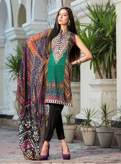 Zainab Chottani Latest Summer Spring Lawn Dresses Collection 2015 for Women (29)