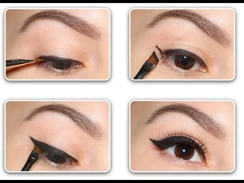 How to apply a perfect & flawless Eyeliner Step by Step Tutorial with Pictures (4)