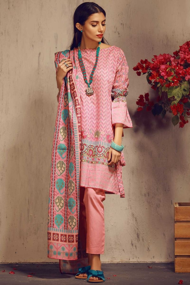 0e0809cde8 ... Khaadi Summer Printed Embriodered Lawn Dresses Collection 2018-2019 for  Women (12) Khaadi Summer Printed Embriodered Lawn Dresses Collection 2018-2019  ...