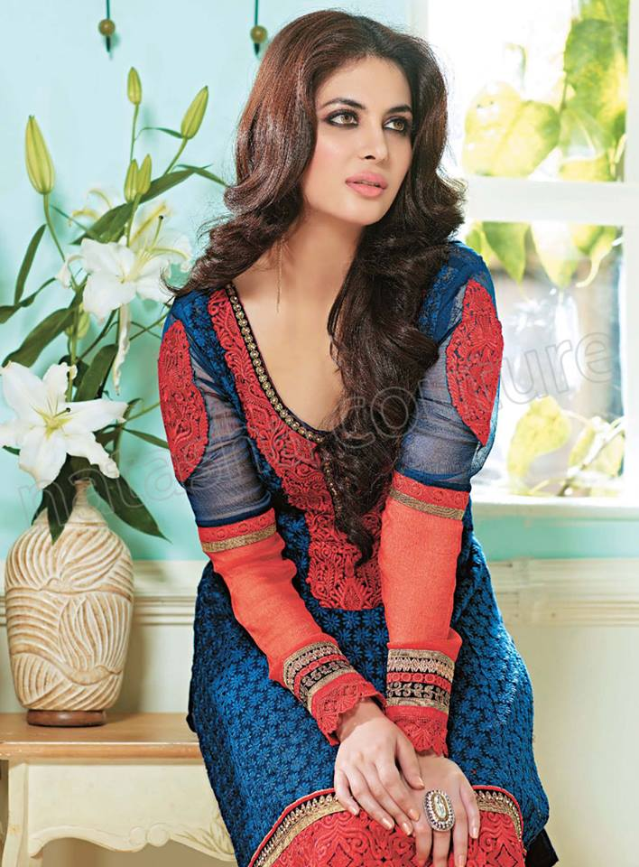 Pakistani & Indian Straight Cut Salwar Suits Designs Latest Collection 2015-2016 (30)