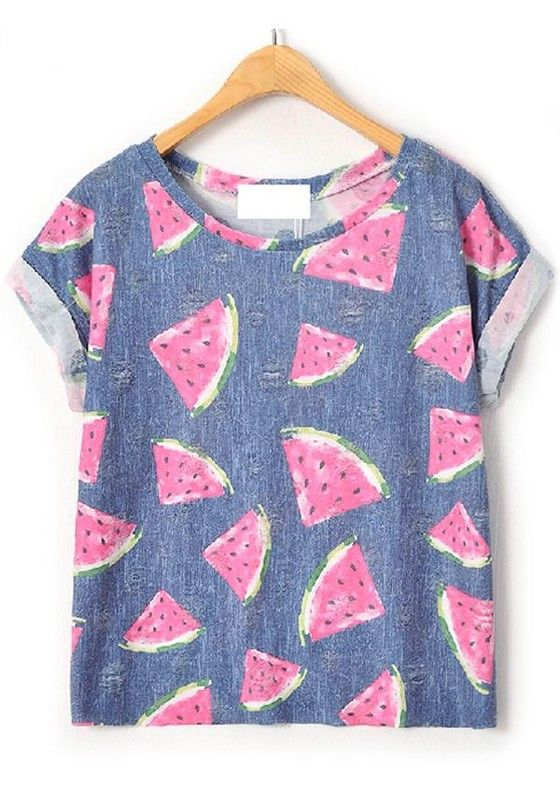 Urban Fashion Ladies Stylish Summer T-Shirts Designs New Collection 2015-2016 (15)