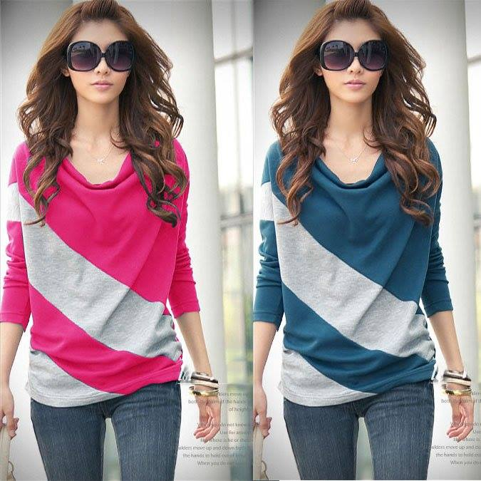 Urban Fashion Ladies Stylish Summer T-Shirts Designs New Collection 2015-2016 (18)