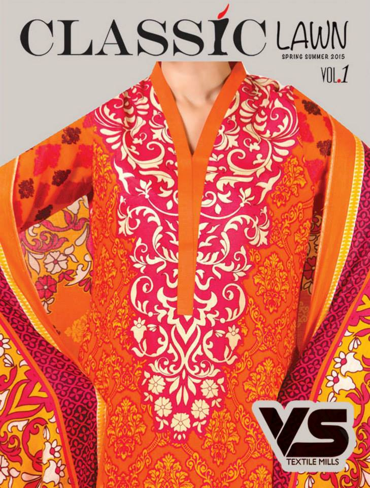 VS Textile Mills Vadiwala Classic Lawn Embroidered Chiffon Collection 2015-2016 (10)