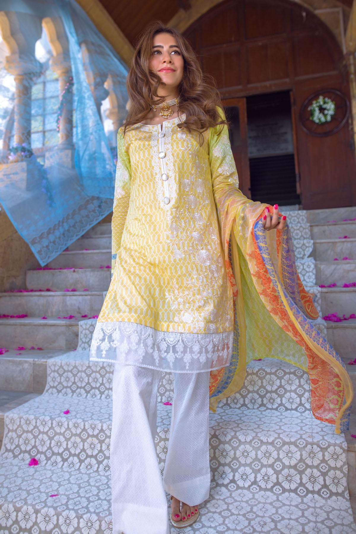 AlKaram Stylish Eid Dresses Festival Collection 2016-17 (12)
