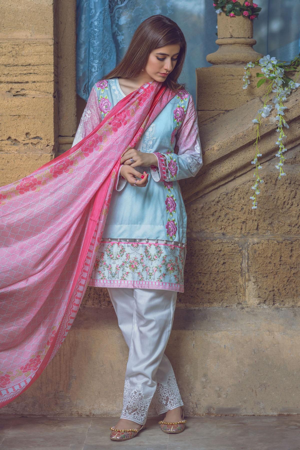 AlKaram Stylish Eid Dresses Festival Collection 2016-17 (2)