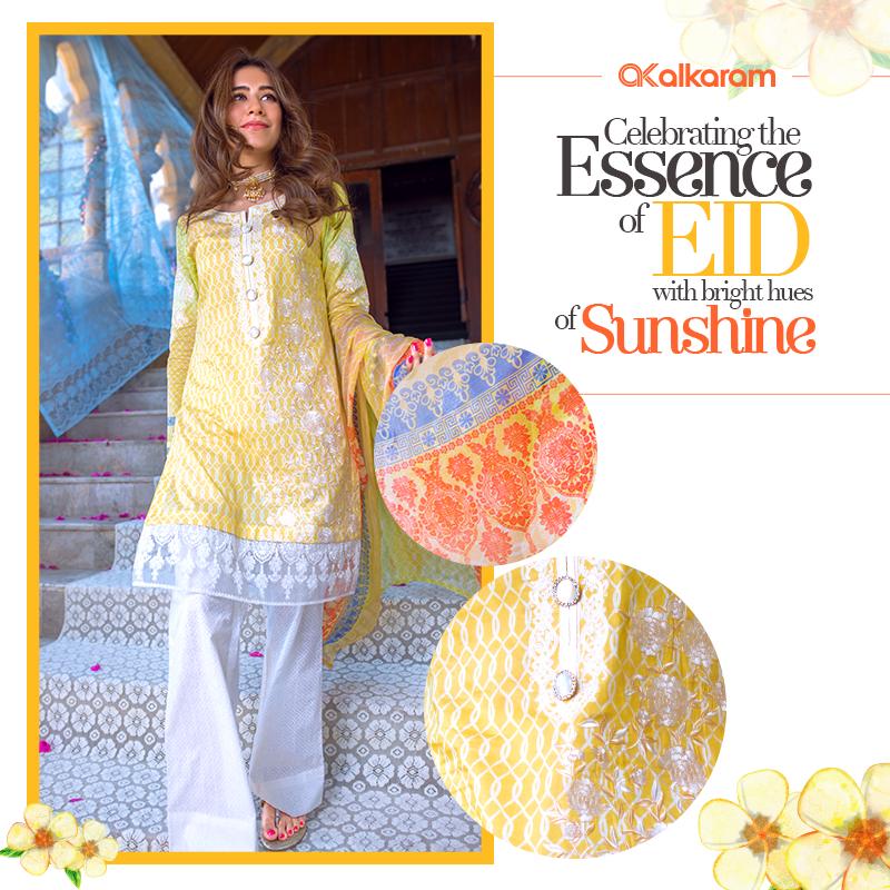 AlKaram Stylish Eid Dresses Festival Collection 2016-17 (8)