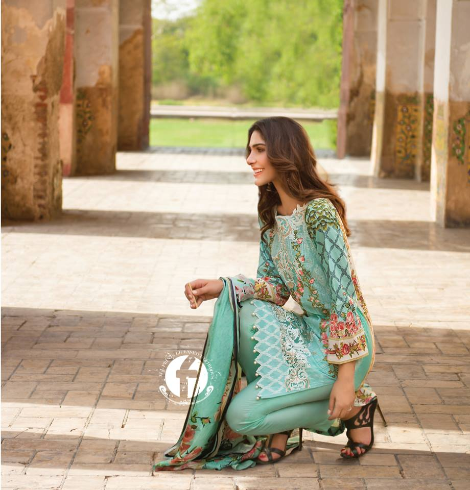 Firdous Embroidered Lawn Dresses Eid Festival Collection 2016-2017 (26)