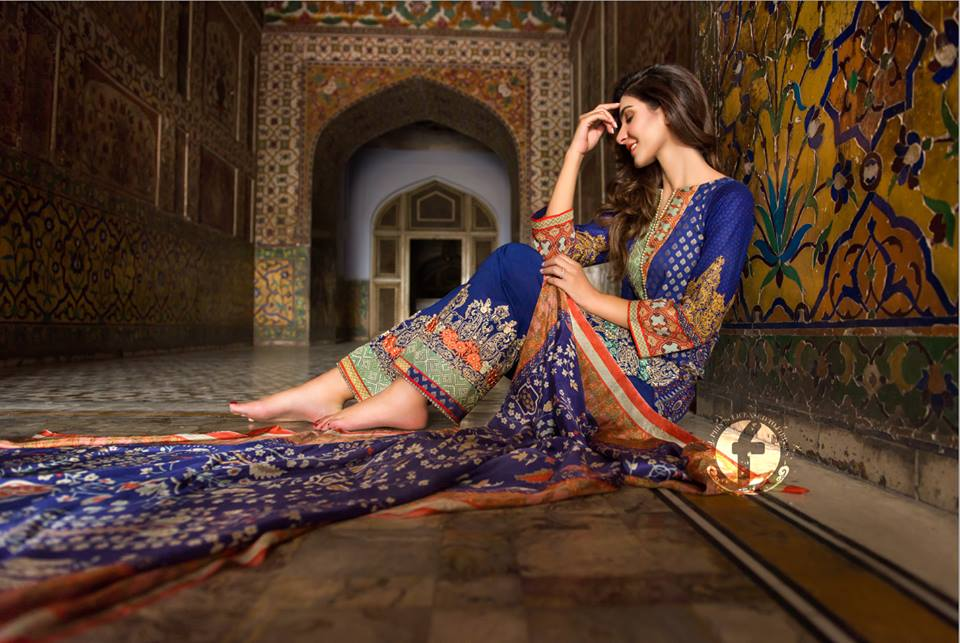 Firdous Eid Lawn Suits Festival Collection 2019 for Women