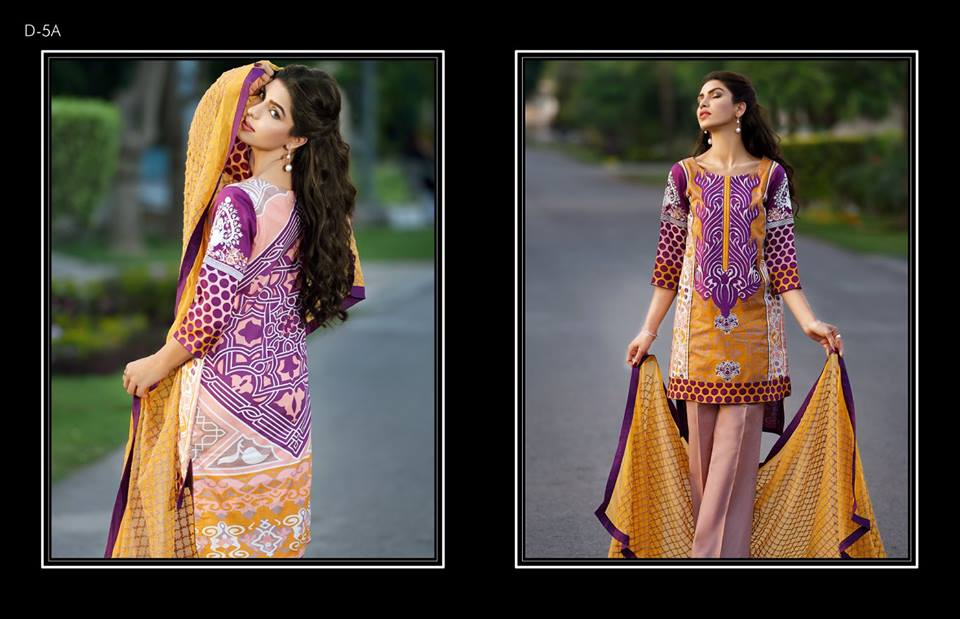 Firdous Embroidered Lawn Dresses Eid Festival Collection 2016-2017 (8)