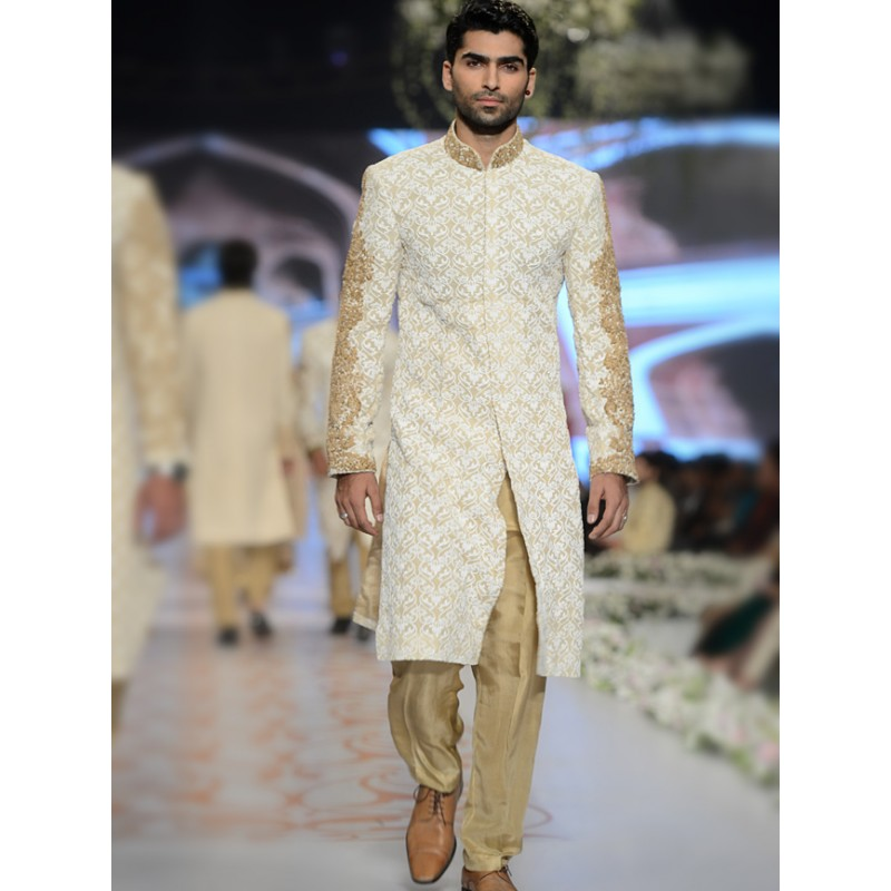 HSY Men Wedding Dresses Sherwani Designs Collection 2015-2016 (1)