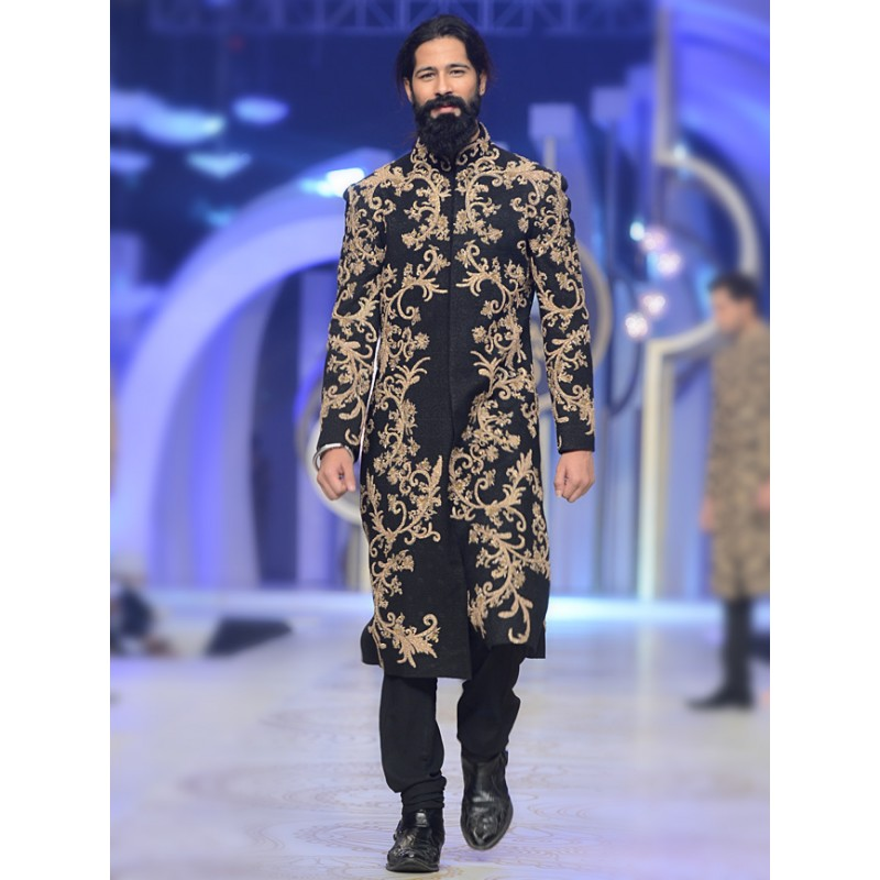 HSY Men Wedding Dresses Sherwani Designs Collection 2015-2016 (12)
