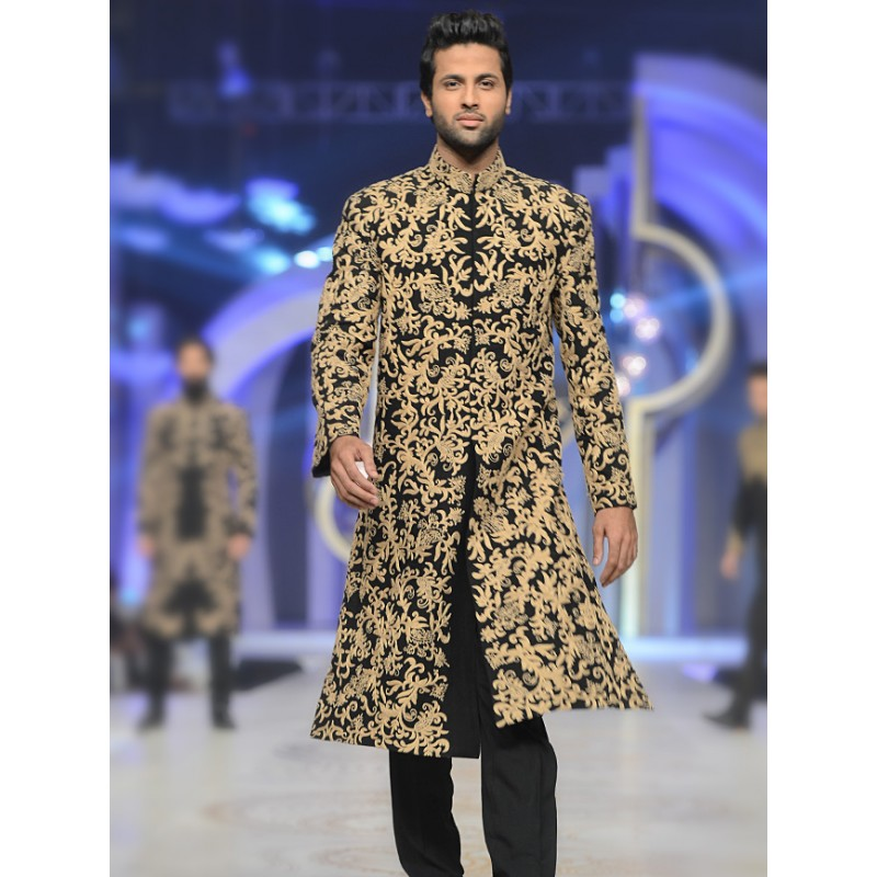 HSY Men Wedding Dresses Sherwani Designs Collection 2015-2016 (13)
