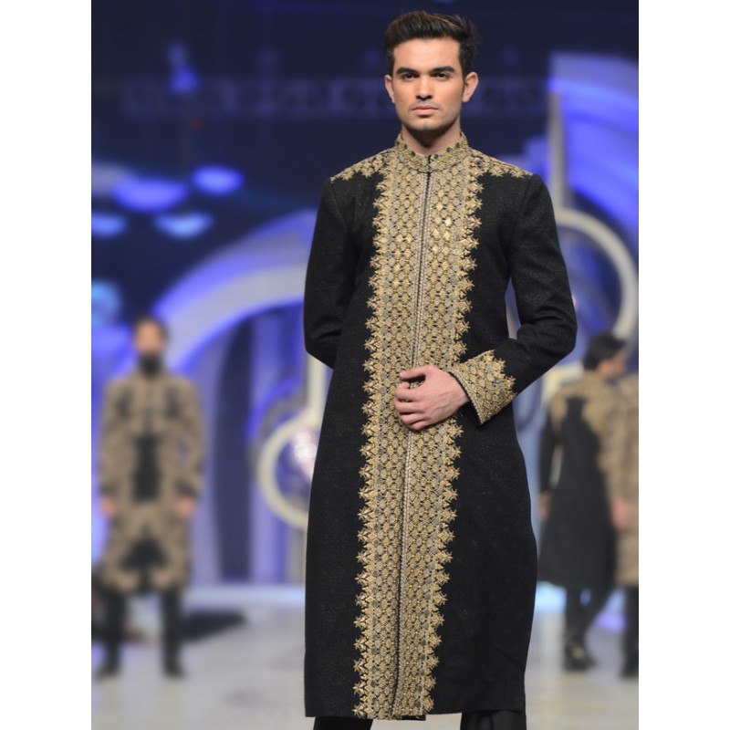 HSY Men Wedding Dresses Sherwani Designs Collection 2015-2016 (15)
