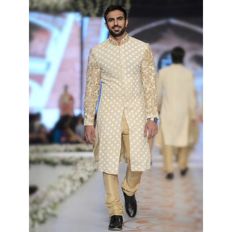 HSY Men Wedding Dresses Sherwani Designs Collection 2015-2016 (19)