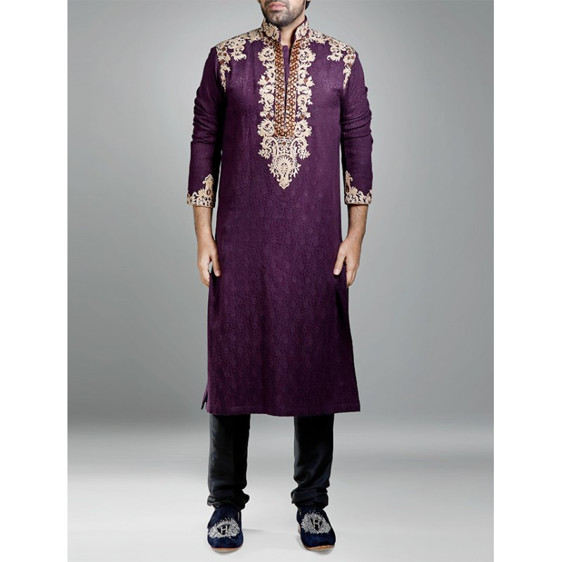 HSY Men Wedding Dresses Sherwani Designs Collection 2015-2016 (22)