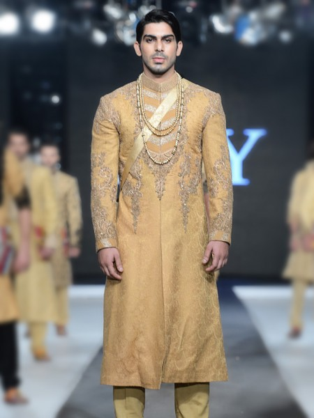 HSY Men Wedding Dresses Sherwani Designs Collection 2015-2016 (6)